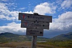 signpost Arkivbilder