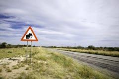 Signpost animale immagini stock