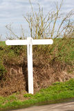 Signpost at a country junction. UK Stock Image