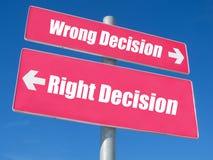 Signpost di concetto immagine stock libera da diritti