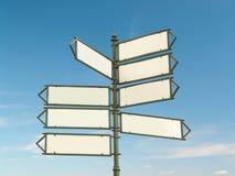 Signpost di Multway immagine stock libera da diritti