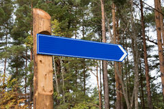 Signpost. Royalty Free Stock Images
