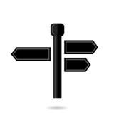Signpost Icon Stock Image