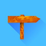 Signpost Icon Royalty Free Stock Photography