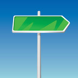 Signpost (illustration) Royalty Free Stock Photo