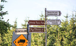 Signpost, Ireland Stock Photos