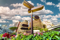 Signpost in Monaco Royalty Free Stock Image
