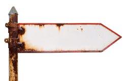 Signpost oxidado Fotografia de Stock Royalty Free
