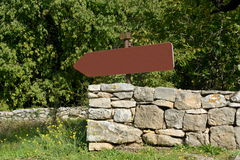 Signposts along the way Stock Image