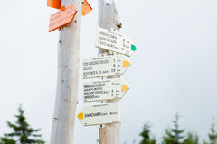 Signposts Royalty Free Stock Image
