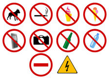 Signs Royalty Free Stock Images