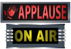 Signs On Air Applause Studio