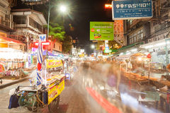 Signs along Khao San Road Royalty Free Stock Photos