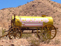 The signs in the calico ghost town Royalty Free Stock Photography