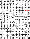 Signs collection 2 (+ ). Signs for a wide range of application Royalty Free Stock Images