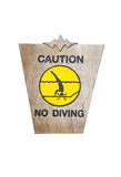 Signs diving. Stock Image