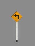 Signs harm curves. Isolated on gray background Royalty Free Stock Images