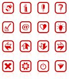 Signs icons Royalty Free Stock Photos