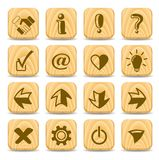 Signs icons Royalty Free Stock Images