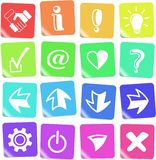 Signs icons Royalty Free Stock Photo