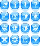 Signs icons Stock Photo