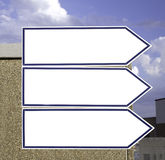 Signs information Stock Photos