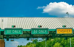 Toll Road royalty free stock images