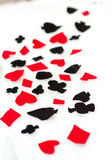 Signs of playing cards Stock Photography