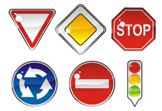 Signs priority Stock Photo