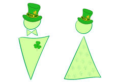 Signs of a St. Patrick's Day Royalty Free Stock Photos