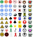 Signs and symbols Royalty Free Stock Image