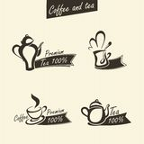 Signs of tea Royalty Free Stock Photo