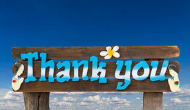 Signs Thank you Royalty Free Stock Images
