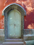 Signs of time - photo. Old door located in Parque Lage, Rio de Janeiro, Brazil Stock Image