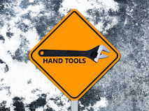 Signs tools Stock Image