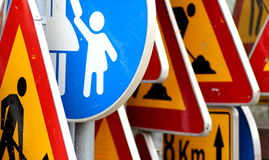 Signs, traffic Royalty Free Stock Image