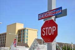 Signs in Virginia Beach, Virginia Stock Photo