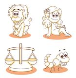 Signs of the zodiac 2 Royalty Free Stock Images