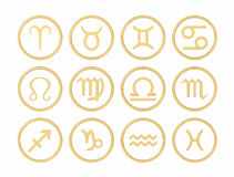 Signs of the zodiac Royalty Free Stock Photos
