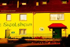 Sigolsheim法国 免版税图库摄影