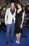 Sigourney Weaver et Bill Paxton Images stock
