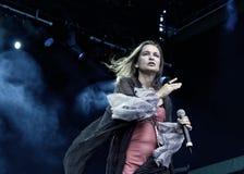 Sigrid Hausen von Qntal bei Zita Rock Fest 2011 Stockfoto