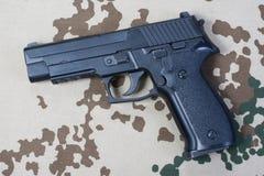 Sigsauer-Handgewehr Stockfoto