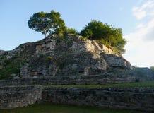 Sigtseeing τουρισμός ταξιδιού πολιτισμού ιστορίας της Maya Μεξικό πυραμίδων Ake Στοκ φωτογραφίες με δικαίωμα ελεύθερης χρήσης