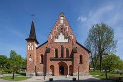 Sigtuna圣玛丽的教会  库存照片