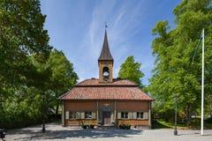 Sigtuna,瑞典老城镇厅  免版税库存照片