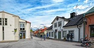 Sigtuna -最旧的镇在瑞典 库存图片