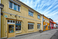 Sigtuna -最旧的镇在瑞典 库存照片