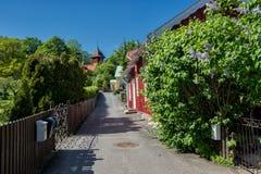 Sigtuna - la ciudad más vieja de Suecia Fotos de archivo