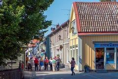 Sigtuna - la più vecchia città in Svezia fotografie stock libere da diritti